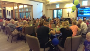 Walnut Creek's Neighborhood Church all family dinner on last Sunday every month